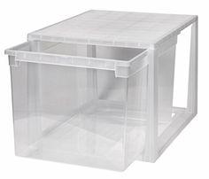 Hochwertige XXL Schubladenbox, extra tief und hoch- 48 Lt…