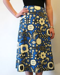 Sew Tessuti - New Free Pattern - the Libby A-Line Skirt