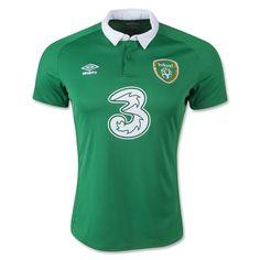 AmazonSmile : Ireland 2015 Home Soccer Jersey : Clothing