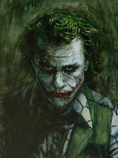 The Joker: Head Detail by vee209 on @DeviantArt