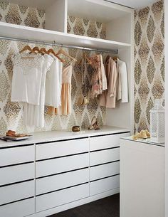 A Walk In Closet To Linger In - Sarah Sarna   A Fashion, Beauty, and Decor Blog   // Powered by chloédigital