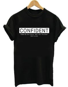 Demi Lovato Confident Album Inspired Tee Tour by FunTeeDesignCo