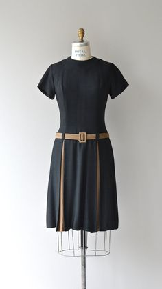 Time Capsule dress vintage 60s dress 1960s mod by DearGolden
