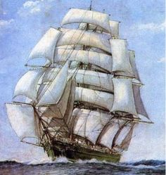Клипер «Thermopylae», названный  в честь ущелья Фермопилы, в котором в сентябре 480 года до н.э. произошло кровопролитное сражение между персами и греками. на его счету как минимум три скоростных рекорда. Английский историк парусного флота Бэйзил Лаббок отмечал, что «Фермопилы» мог достигать скорости в семь узлов при таком ветре, который не тушил зажженную на палубе свечу.