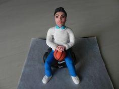 Personaggio 3D in pasta di zucchero - YouTube