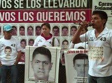 Galdino Saquarema 1ª Página: Familiares de estudante desaparecidos protestam na Argentina