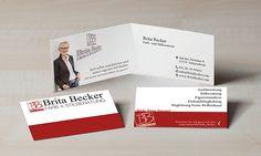 Visitenkarte für Farb- und Stilberatung Brita Becker
