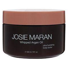 Josie Maran Argan Oil Super-size 19oz Whipped Body Butter in Vanilla Fig