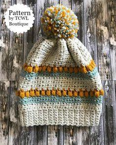 Cora Accent Hat Pattern TCWL Boutqiue & Designs