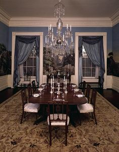 See how the Treaty Room, Yellow Oval Room, Solarium, Master Bedroom, and Family Dining Room have changed throughout the years White House Rooms, White House Interior, White House Tour, White Rooms, Les Kennedy, Jackie Kennedy, Jackie O's, Family Dining Rooms, Room Pictures