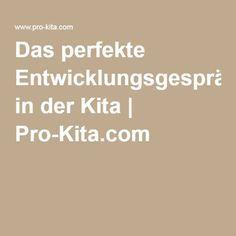 Das perfekte Entwicklungsgespräch in der Kita | Pro-Kita.com
