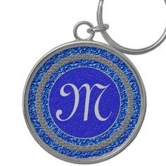 """Monogram Keychains Initial is Customizable Women.  Personalization Gifts  Make a statement with Customizable Gifts with YOUR PHOTOS and or TEXT. http://www.zazzle.com/littlelindapinda/gifts?cg=196011228045420884&rf=238147997806552929    Easy to use Templates.  Click """"Change"""" to Upload YOUR PHOTO  and type in YOUR TEXT into the TEXT BOX(es).  ALL of Little Linda Pinda Designs CLICK HERE: http://www.Zazzle.com/LittleLindaPinda*"""