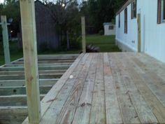 deck 1/2 way done