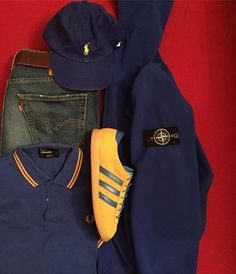 Away days - Malmos, Stone Island, Fred Perry, Ralph Lauren Classic Outfits, Cool Outfits, Casual Outfits, Casual Wear, Men Casual, Casual Styles, Designer Sportswear, Sergio Tacchini, Football Casuals