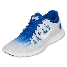Nike Men's Nike Free 5.0+ Running Shoes -- blue white