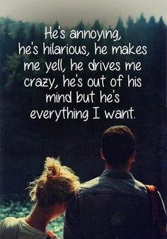 Yes he is. He is my happy place