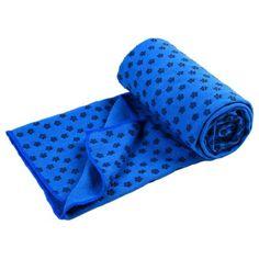 Partiss Non Slip Skidless Yoga Mat Towel, Dark Blue