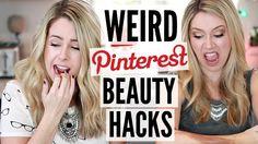 Testing Pinterest Beauty Hacks #2 - WINTER | HACK OR SACK