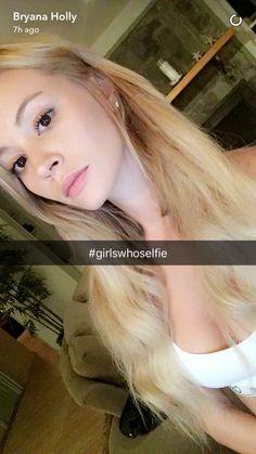 On Bryana's Snapchat