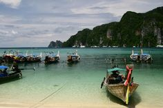 Ilhas Phi Phi - Tailândia Thailand, Summer Vacations, Travel Guide, Islands, Viajes