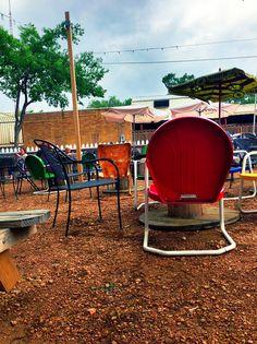 Visiting my college town, Denton, TX