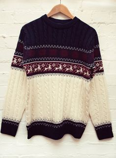 You can be tasteful when it comes to the old Christmas jumper. We reckon you could get away with this one all the way through autumn winter!