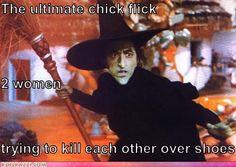 Wizard of Oz LOL I like the caption too funny