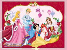 Puzzle of the stories of princesses