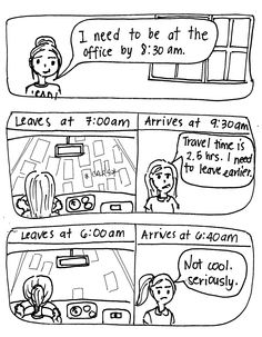 Comic: The Unpredictable Traffic in Manila | Organized! by Pam