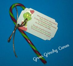 Grinch candy cane