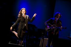 Natalie Merchant performs songs from her latest album Leave Your Sleep at The Fourth Annual PEN Cabaret at Le Poisson Rouge.
