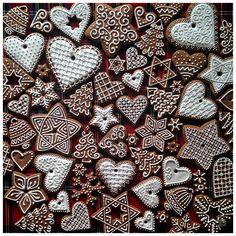 Christmas Sugar Cookies, Christmas Snacks, Christmas Gingerbread, Christmas Love, Christmas Deco, Christmas Baking, Gingerbread Decorations, Gingerbread Cookies, Christmas Challenge