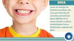 Leve seu filho ao dentista durante as férias! Além de  padronizar os intervalos, você otimiza o seu tempo, cuida da saúde do seu filho e garante que ele possa sorrir sempre!