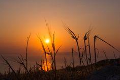 Live it!  Sunset in Ano Mera, Folegandros.