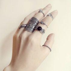Rings rings ❤ #canelaacessorios #acessorios #bijuteria #biju #online #acessorios #acessories