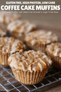 Your morning routine will get stronger (and tastier) by pairing one of these protein-packed coffee cake muffins with your morning cup of coffee. Baking Powder Uses, Baking With Protein Powder, Vegan Protein Powder, Protein Powder Recipes, Baking Soda Uses, Protein Shake Recipes, Gluten Free Protein Muffin Recipe, Recipe With Protein Powder, Healthy Muffins