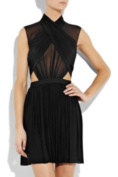 This Alexander Wang dress is Kicking it Sideways.. Divine.. I am Inspired to recreate this in denim with Swarovski Crystals & Pearls with an Obi Belt Pleated into Waist with the Bottom Part of the Skirt Full of & layers of Ruffles...