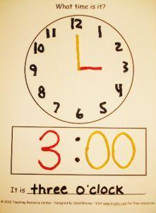 wikki stix clock activity
