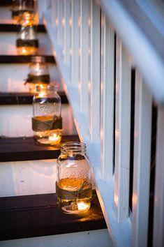 Mason Jar Lanterns | Fia Forever Photography | #Weddings
