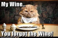 Dont forget the wine!