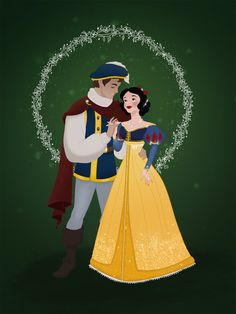 Holiday+Couple:+Snow+White+and+Ferdinand+by+Grodansnagel.deviantart.com+on+@DeviantArt