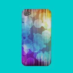Geometric Bokeh 1 Case-mate Iphone 4 Case from Zazzle.com