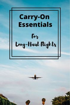 Long haul flights can be a doozy, but here's a list of carry on essentials that you probably don't pack, but should. Trust me, these items will make your flight just a little more comfy and have you just a little more prepared.