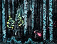 Fairyforest2 by kata-m.deviantart.com on @DeviantArt