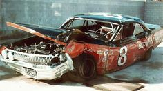 """car in which Joe Weatherly """" the crown prince of NASCAR"""" was killed"""