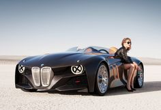 I've always thought this was a cool BWM concept car... not sure if the woman in the picture helps or hurts... a bit of  both I suppose.