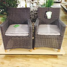 Set of 2 outdoor chairs. Home Goods FurnitureOutdoor ChairsMobile ...