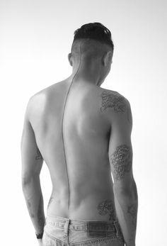 Interesting minimal tattoo