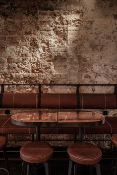 Cozy Restaurant, Restaurant Design, Bar Interior, Interior Design, Interior Ideas, Bauhaus Chair, Lounge Bar, Cozy Bar, Architecture Restaurant