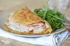 Tortilla saine au son d'avoine – IG bas – Megalow Food Remplacer par farine petit épeautre
